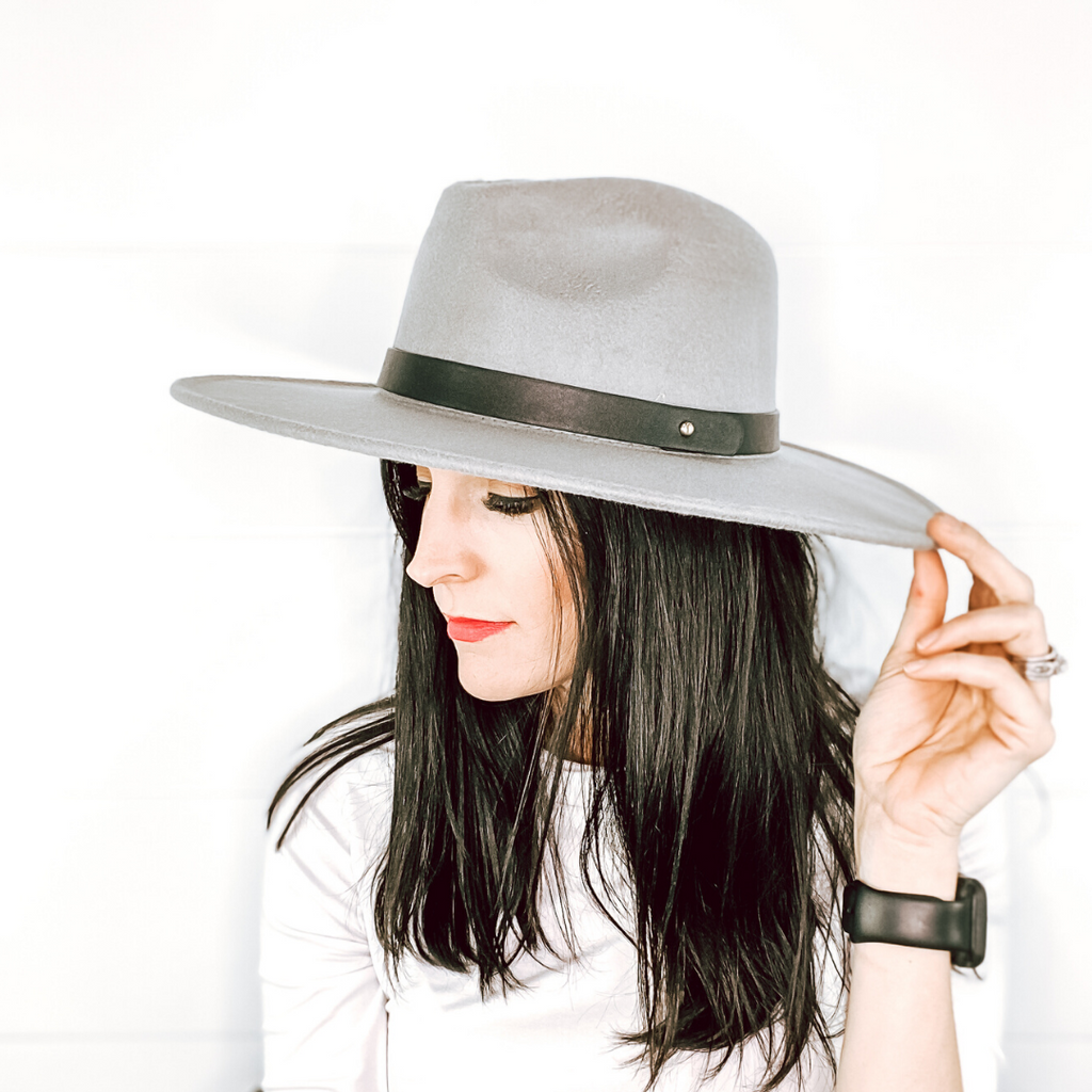 Grey Ryder Hat