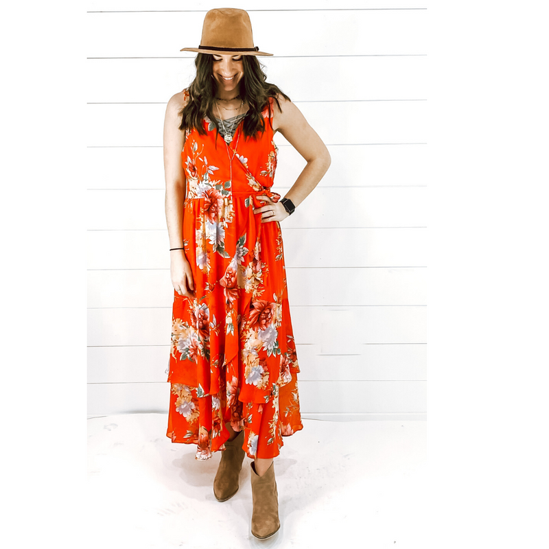Macarena Maxi Dress