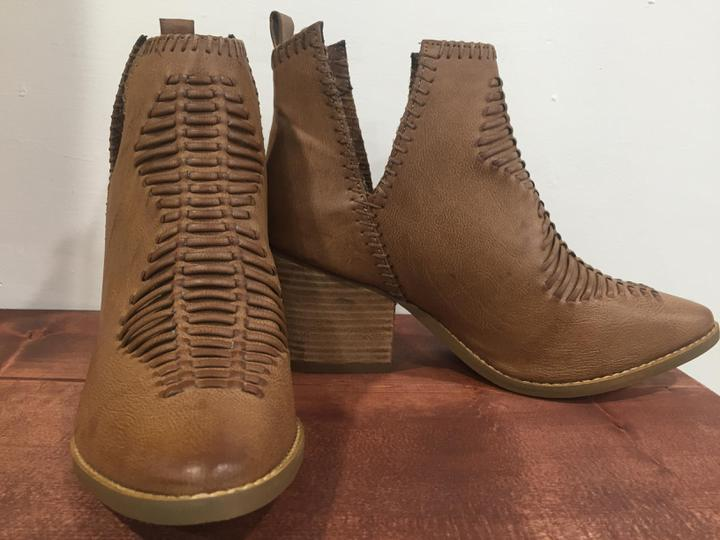 Shollie Tan Booties