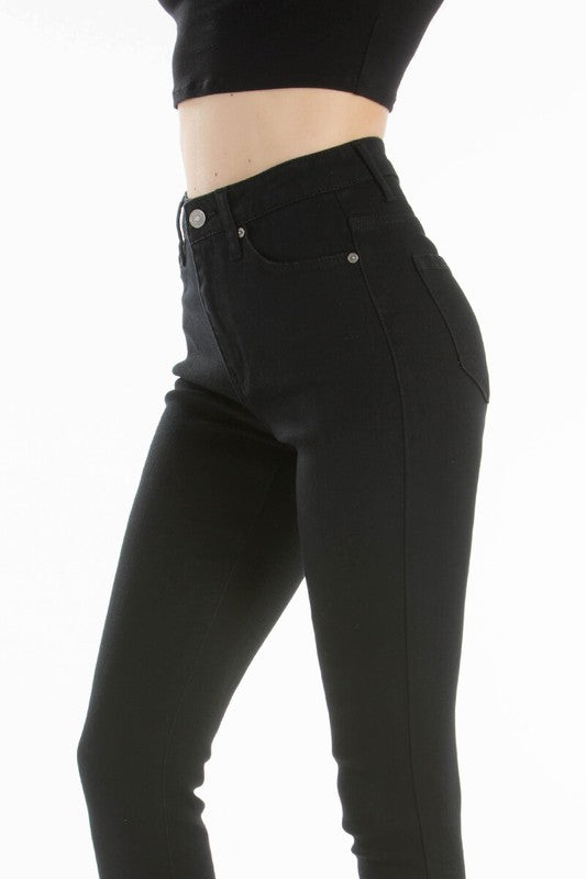 Kan Can Black High Waisted Jeans