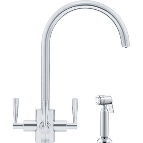 Olympus Filter Flow Silk Steel Swivel Spout/Side Spray