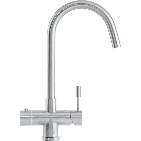 Minerva Helix 3 In 1 Kettle Tap Stainless Steel Bi-Flow Spout