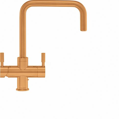 Omni Contemporary 4 In 1 Tap Gold Bi-Flow Spout