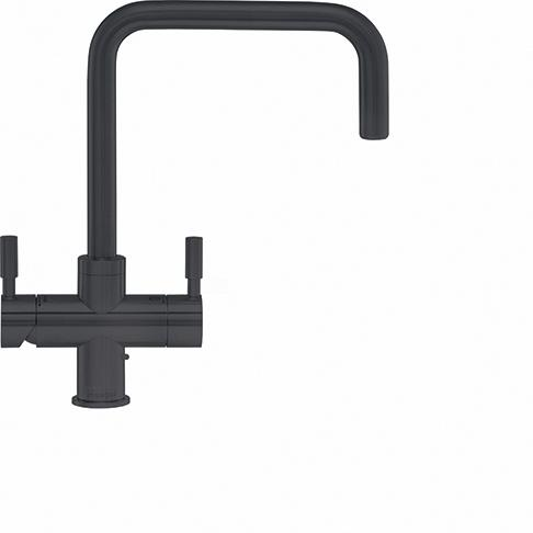Omni Contemporary 4 In 1 Tap Gun Metal Bi-Flow Spout