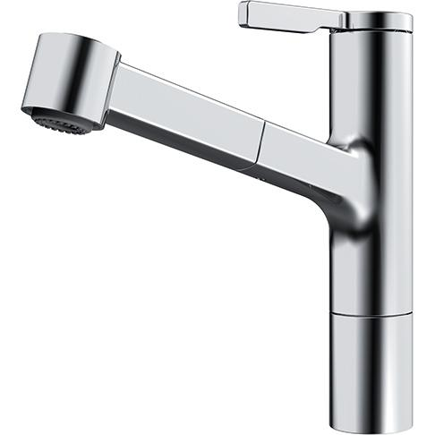 Frames Lever Tap Chrome Pull Out Spray Tap