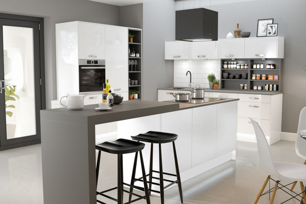 AUTOGRAPH KITCHEN IN WHITE GLOSS