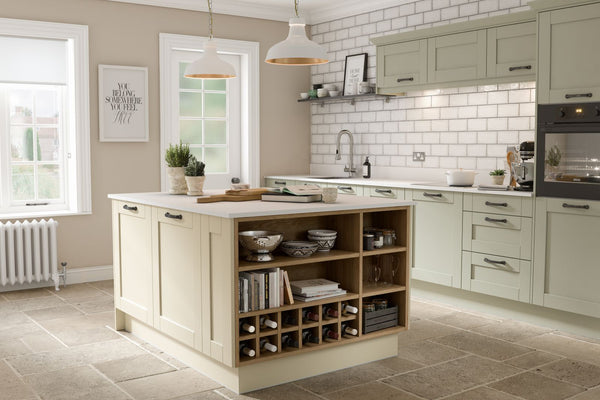 SHAKER SAGE TIMBER KITCHEN