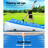 Everfit Airtrack Inflatable Incline Mat - Blue