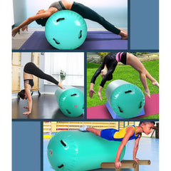 Everfit 120cm Inflatable AirRoller Mat - Green