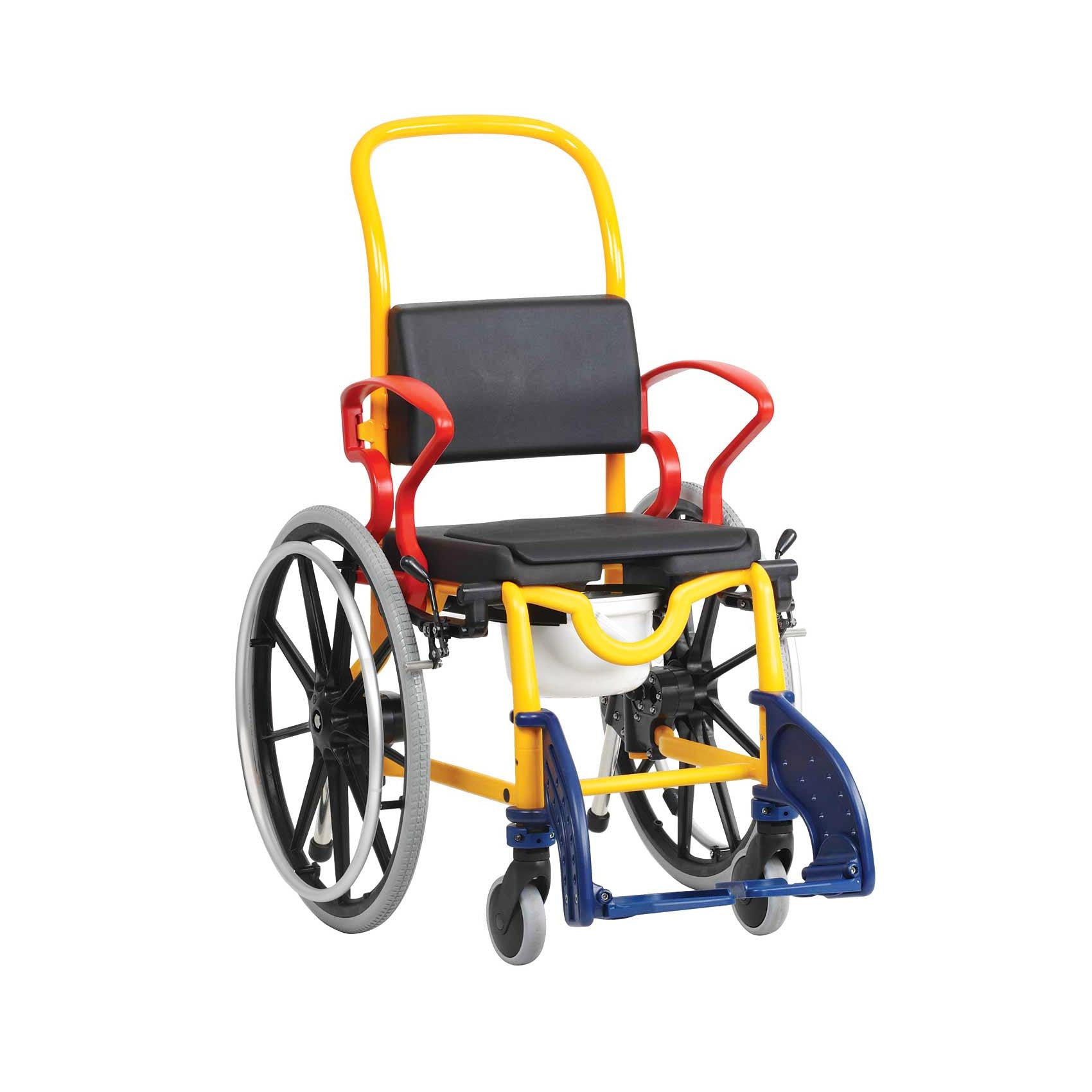 Rebotec Augsburg 24 - Self Propelled Child Commode Wheelchair