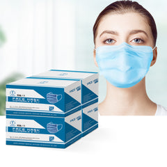 Disposable Face Mask Anti Flu and Dust Masks - 200PCS