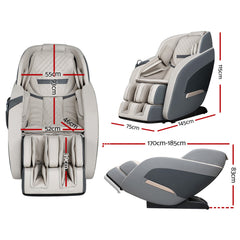 Electric Massage Chair - Zero Gravity - Recliner Shiatsu Kneading Back Massager
