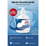 Relifeel Instant Hand Sanitiser Gel Alcohol Sanitizer Quick Dry 500ml