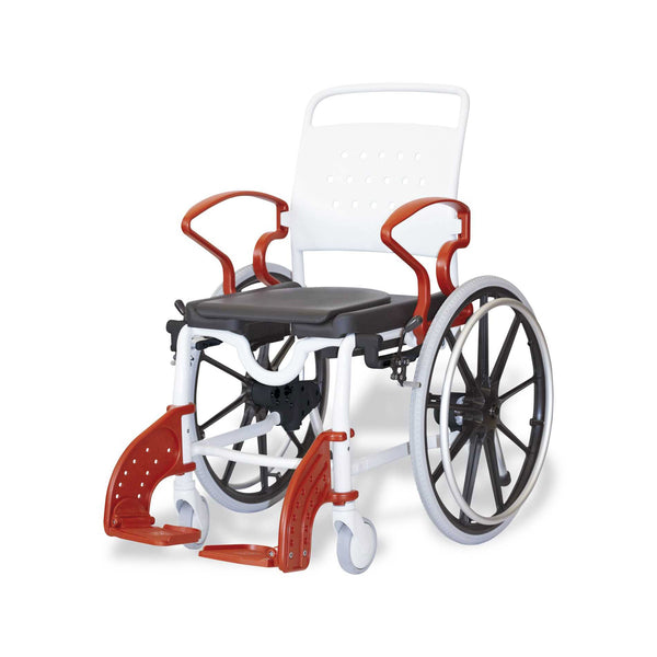 Rebotec Genf - Self Propelled Shower Commode Wheelchair