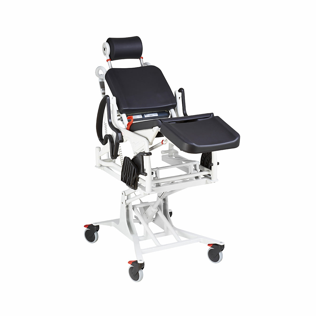 Rebotec Phoenix Multi - Tilt-in-Place and Power Lift Commode Shower Chair