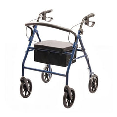 Rollator Four Wheeled Walker with Seat