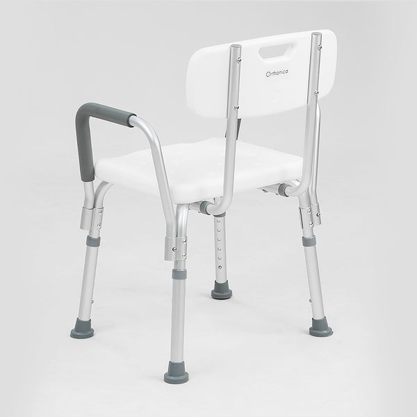 Orthonica Medical Shower with Backrest Armrest Chair