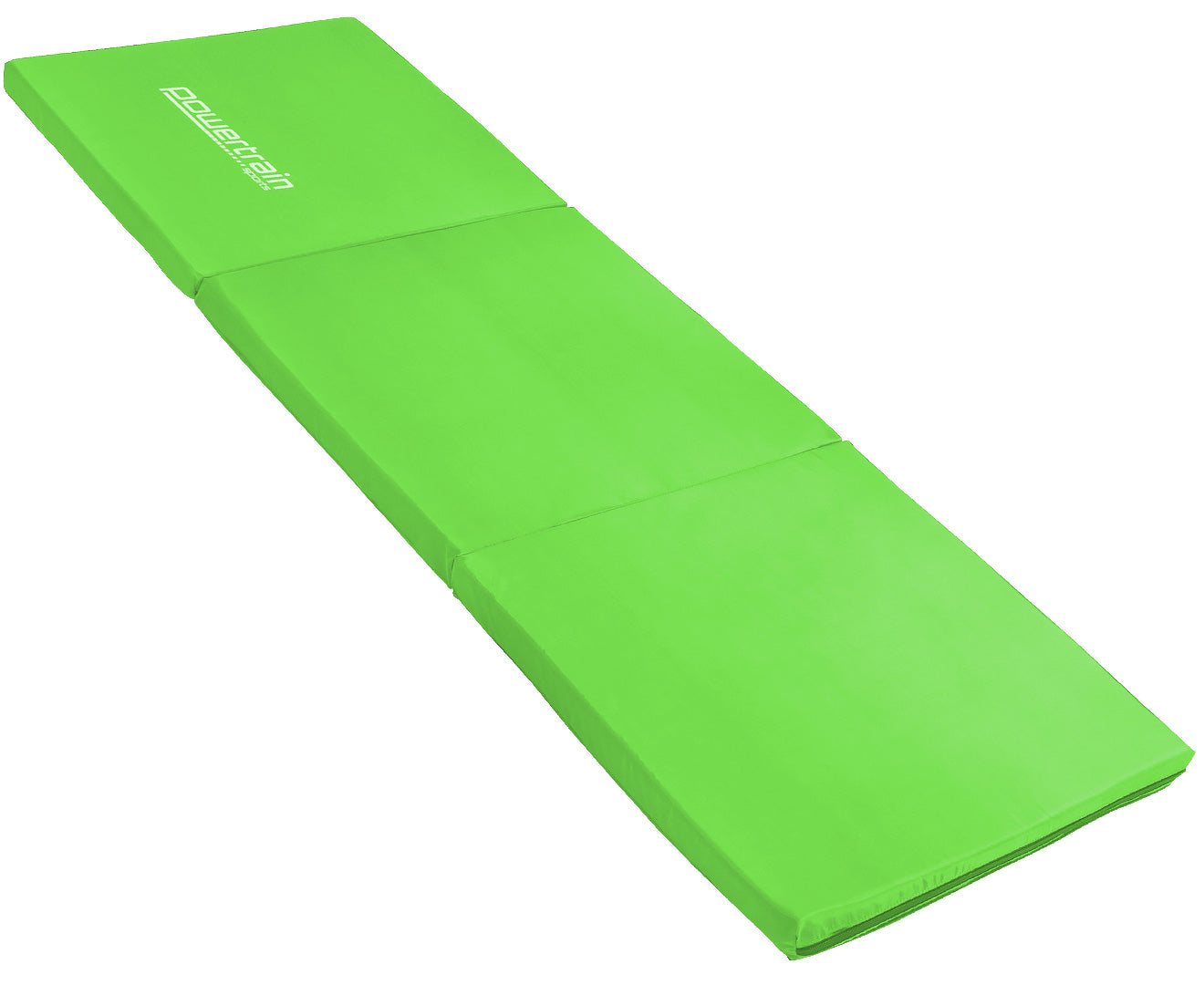 Powertrain Tri-fold Mat - Green