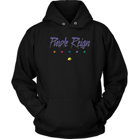 PURPLE REIGN - Prince inspired Thanos Unisex Hoodie