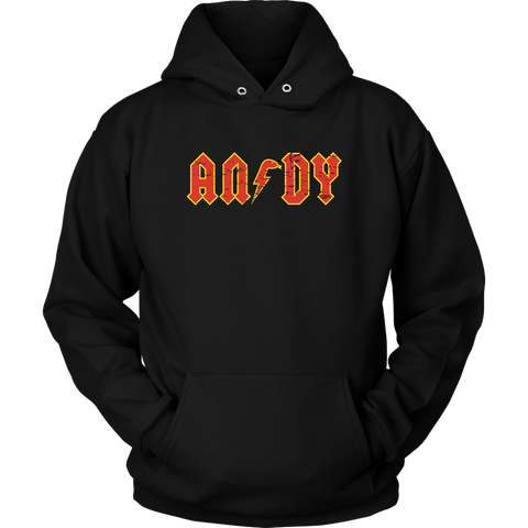 ANDY - AC/DC inspired Unisex Hoodie