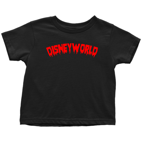BLOOD DISNEY WORLD Toddler T-Shirt