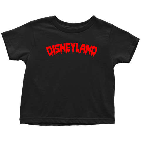 BLOOD DISNEYLAND Toddler T-Shirt