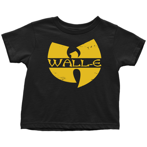 WALL-E - Wu-Tang Clan inspired Wall-E Toddler T-Shirt