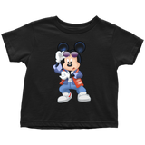 MICKFLY - Mickey Mouse as Marty McFly Toddler T-Shirt