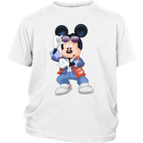 MICKFLY - Mickey Mouse as Marty McFly Youth T-Shirt