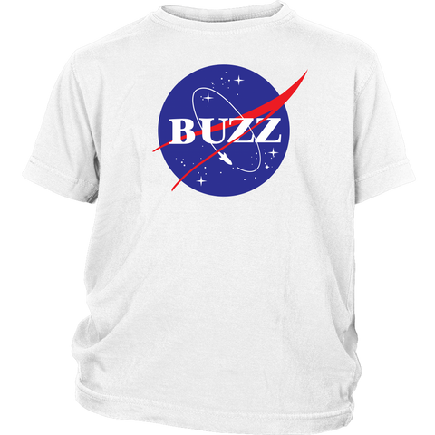 BUZZ - NASA inspired Buzz Lightyear Youth T-Shirt