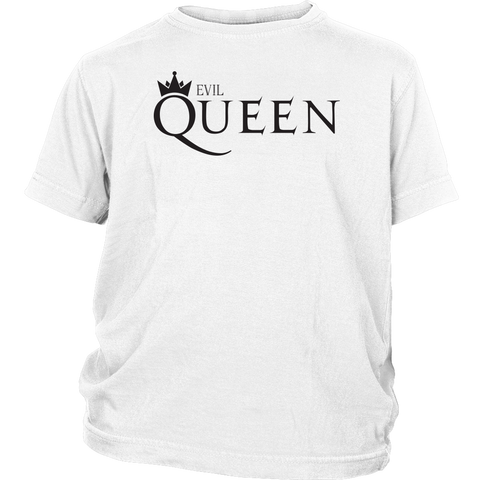 EVIL QUEEN - Queen inspired Snow White Youth T-Shirt