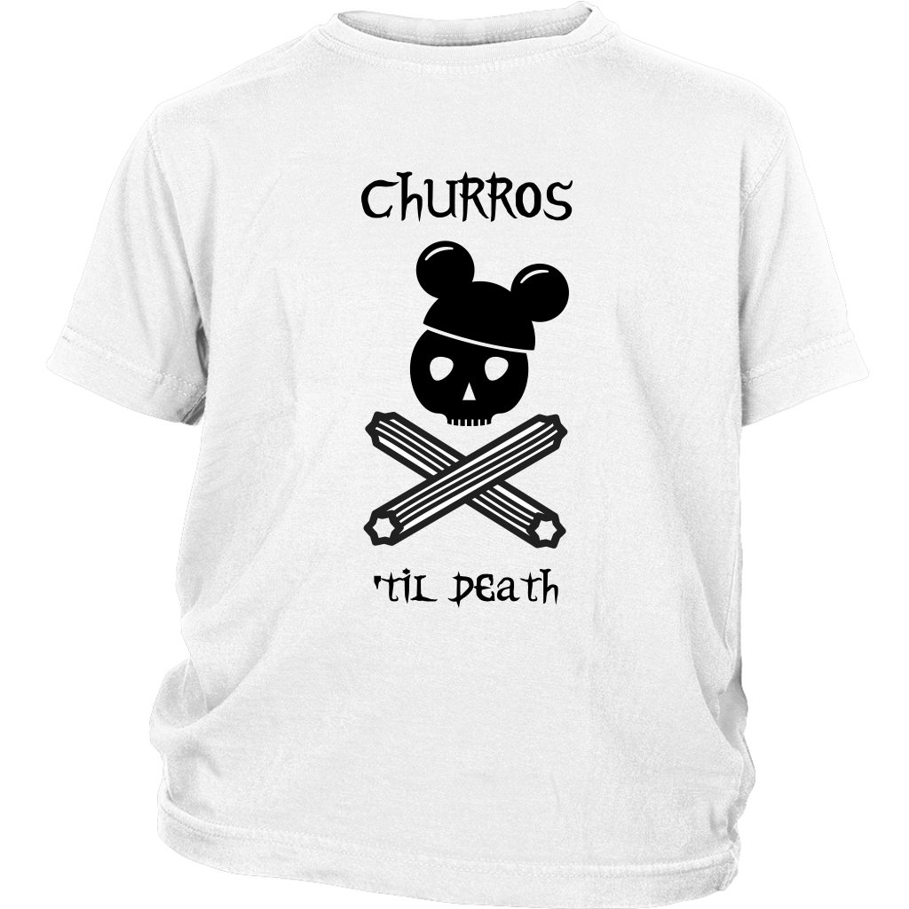 CHURROS 'TIL DEATH Youth T-Shirt