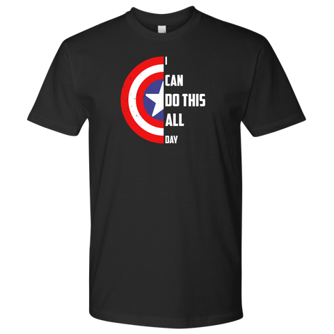Cappin' All Day - Men's T-Shirt