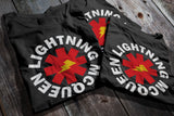 LIGHTNING MCQEEN - Red Hot Chili Peppers inspired T-Shirt