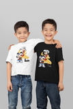 MICKFLY 2 - Mickey Mouse as Marty McFly and Goofy as Doc Brown Youth T-Shirt