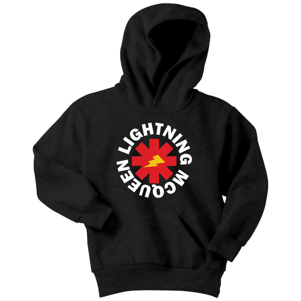 LIGHTNING MCQEEN - Red Hot Chili Peppers inspired Youth Hoodie