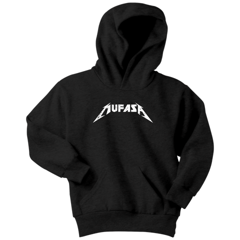 MUFASA - Metallica inspired Lion King Youth Hoodie