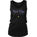 PURPLE REIGN - Prince inspired Thanos Womens Tank