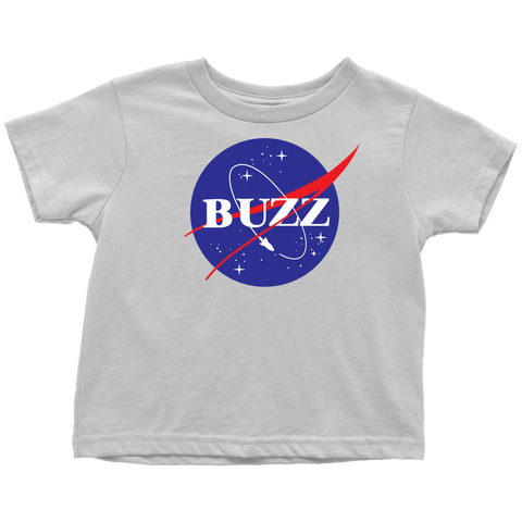 BUZZ - NASA inspired Buzz Lightyear Toddler T-Shirt