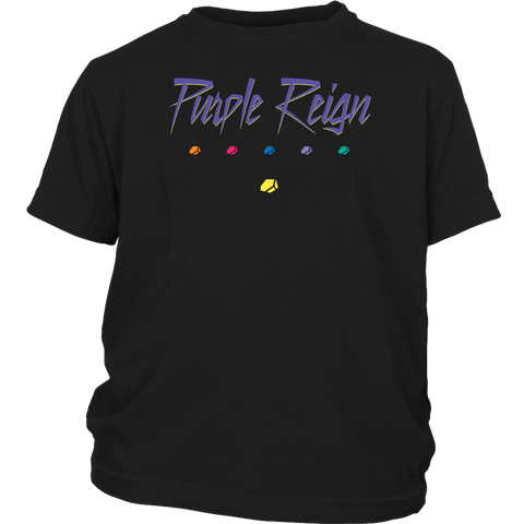 PURPLE REIGN - Prince inspired Thanos Youth T-Shirt