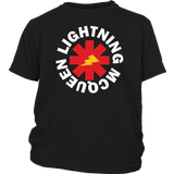 LIGHTNING MCQEEN - Red Hot Chili Peppers inspired Youth T-Shirt