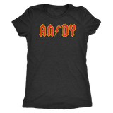 ANDY - AC/DC inspired Womens T-Shirt