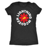 LIGHTNING MCQEEN - Red Hot Chili Peppers inspired Womens T-Shirt