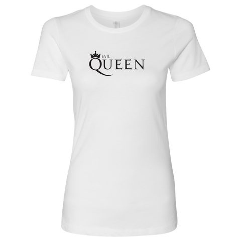 EVIL QUEEN - Queen inspired Snow White Womens T-Shirt