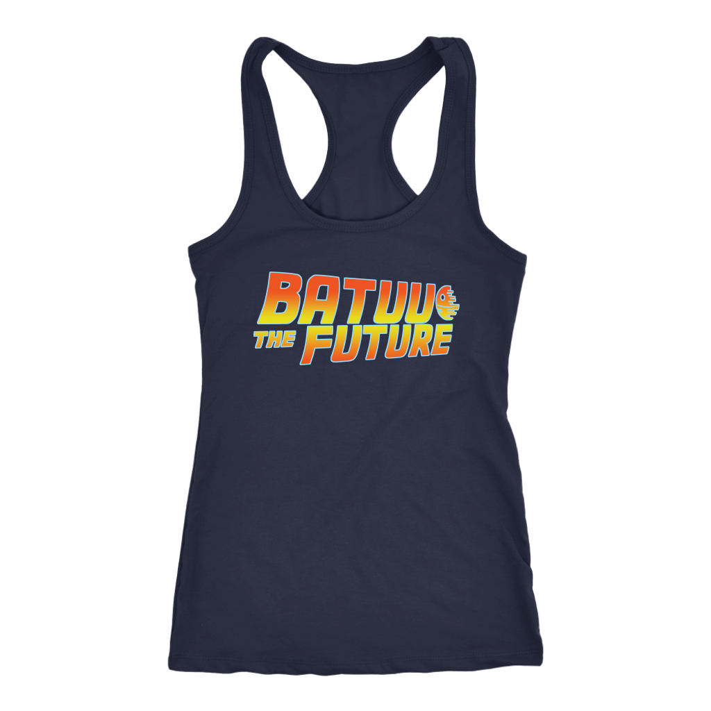 BATUU THE FUTURE - Back to the Future inspired Star Wars Womens Tank
