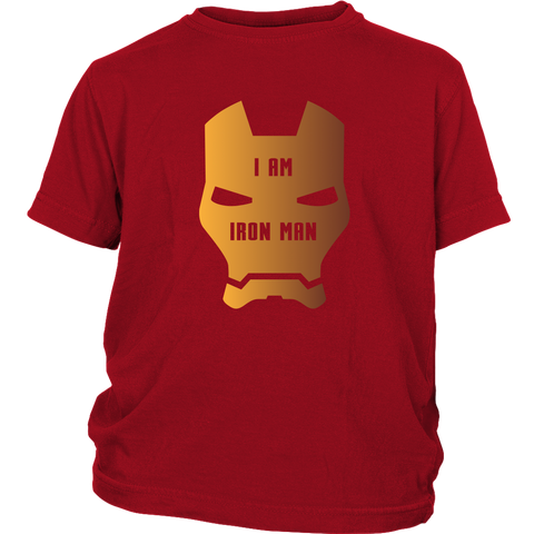 I am Iron Man - Youth T-Shirt