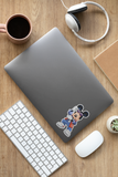 MICKFLY - Mickey Mouse as Marty McFly Sticker
