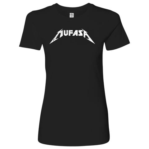 MUFASA - Metallica inspired Lion King Womens T-Shirt