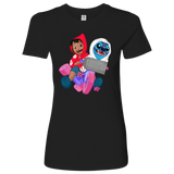 E.T. 626 - Lilo & Stich as Elliott & E.T. Womens T-Shirt
