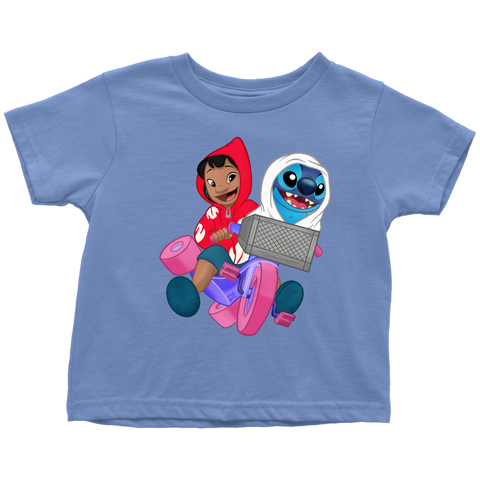 E.T. 626 - Lilo & Stich as Elliott & E.T. Toddler T-Shirt